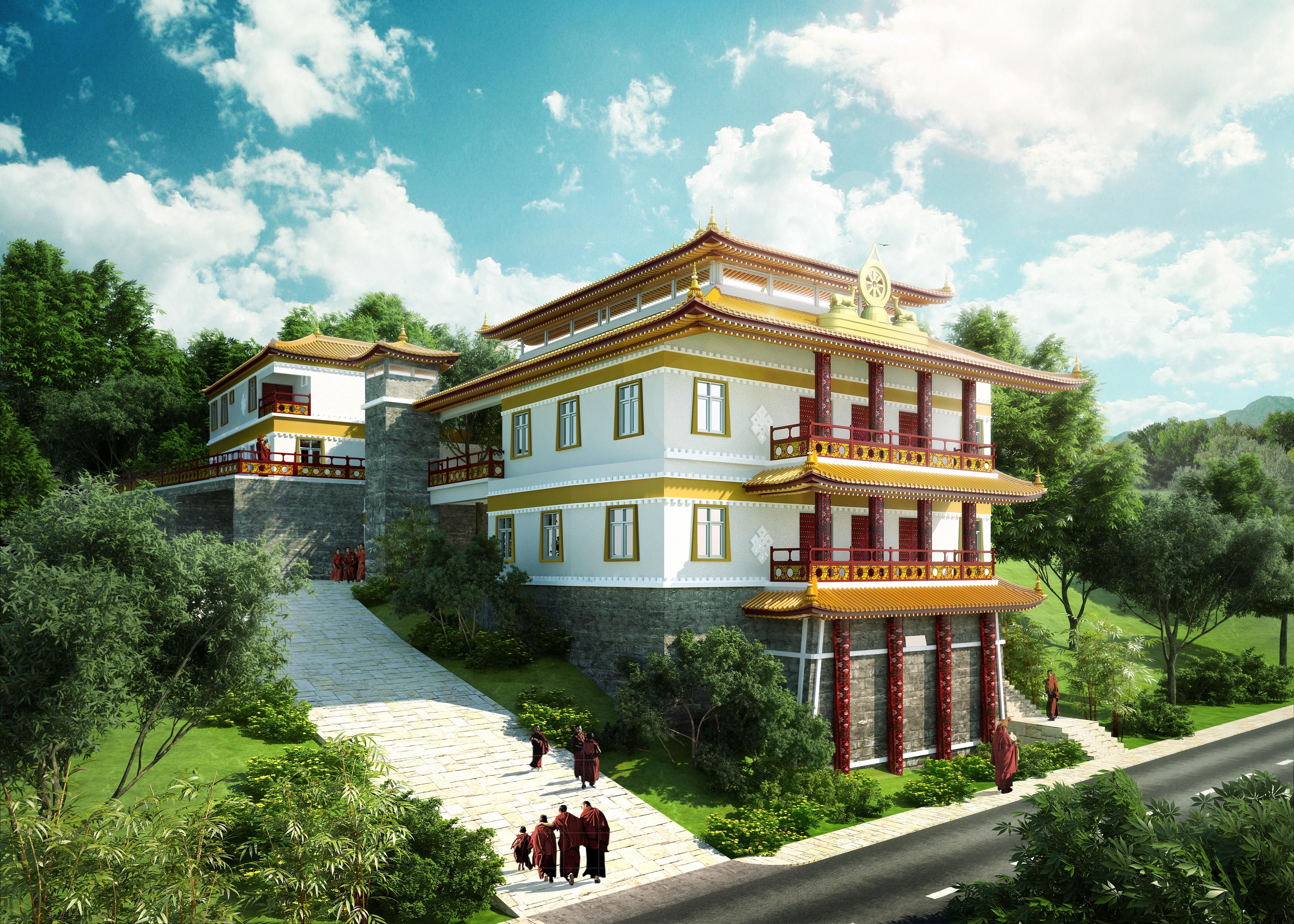New Monastery - Artist Impression